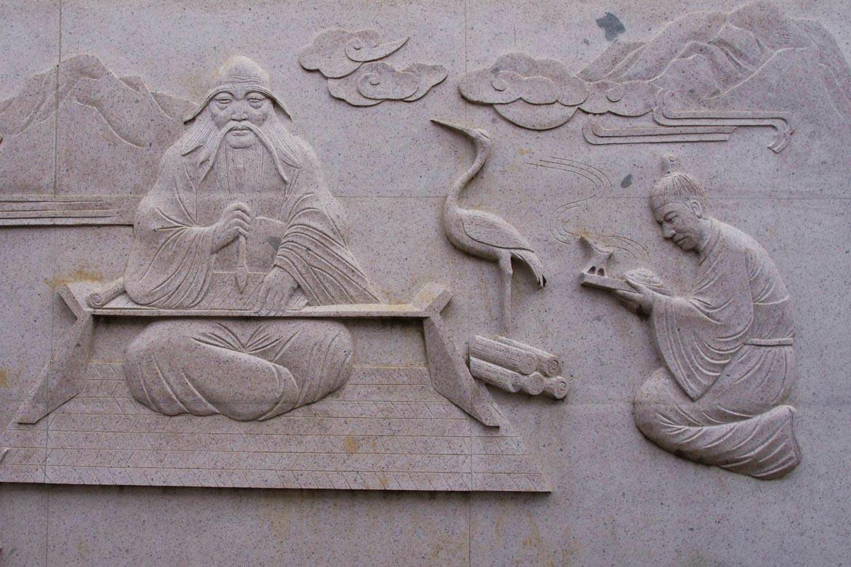 二十四孝花岗岩浮雕博仟北京雕塑公司